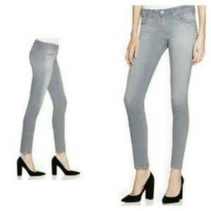 AG The Stilt Cigarette Leg Gray Skinny Jeans 30R